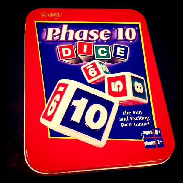 Day 87: Phase 10 Dice