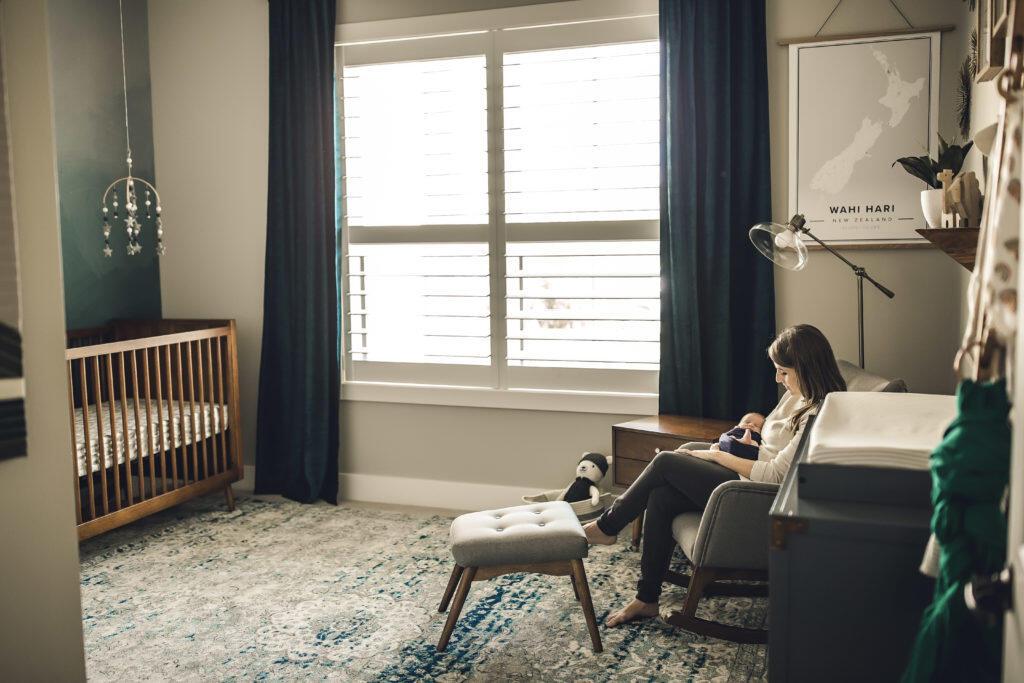 Picture of: Paxton S Mid Century Modern Nursery Mamadoctorjones